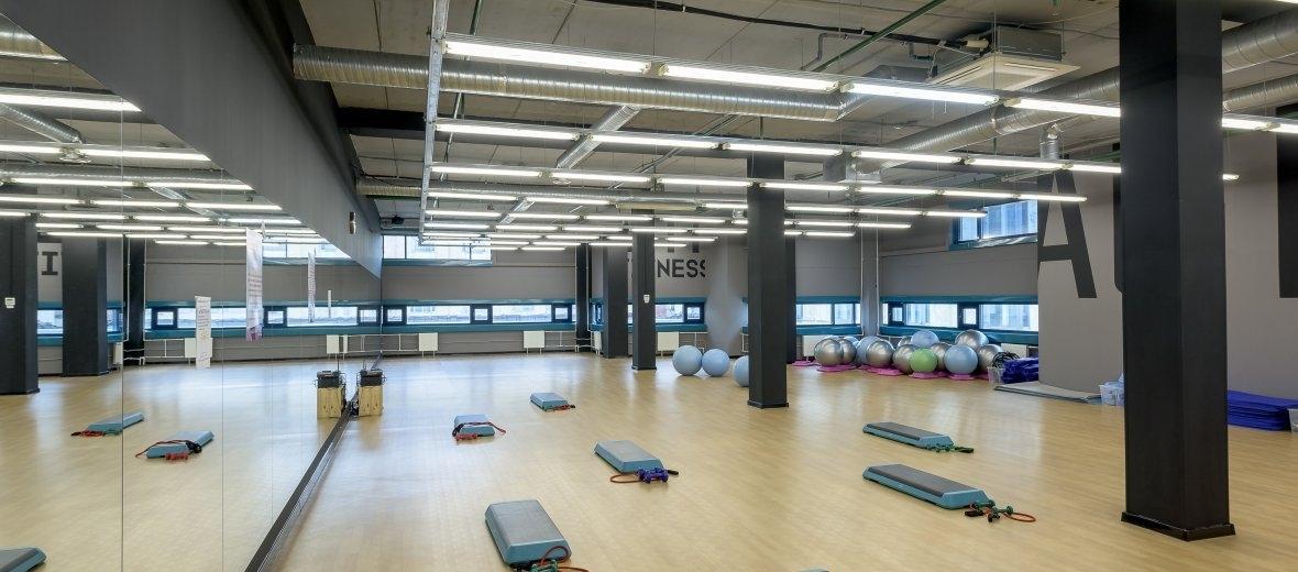 Установка вентиляции в спортзале и фитнес-центре в Москве
